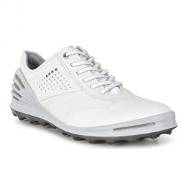 ECCO Mens Golf Cage Pro White Dritton