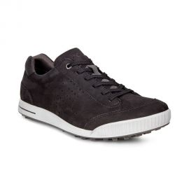 ECCO Men's Street Retro Hydromax Golf Shoe - Black