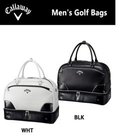 Callaway Glaze Boston Exia Bag - Black & White