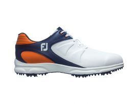 FJ ARC XT men's golf shoes - White + Black + Red