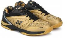 Yonex AERO Comfort Badminton Shoes Black & Gold