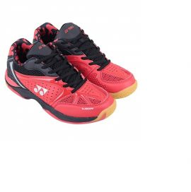 Yonex AERO Comfort Badminton Shoes Red & Black