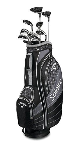 Callaway Solaire Ladies Package Set, 11 Club & Bag, Black