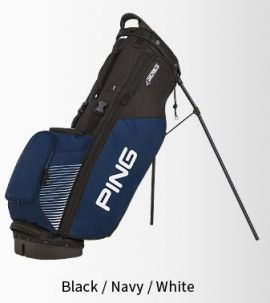 PING 4 Series Stand Bag-Black/Navy/White