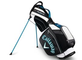 Callaway Rogue Staff Strap Stand Bag -  Black / White