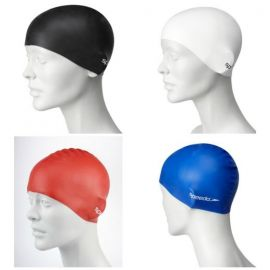 Plain Flat Silicone Junior Cap