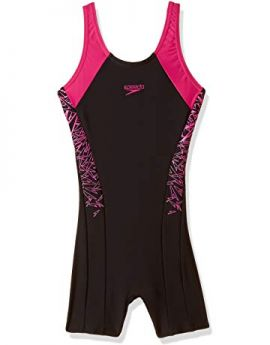 Speedo Boom Splice Legsuit Junior Swimwear