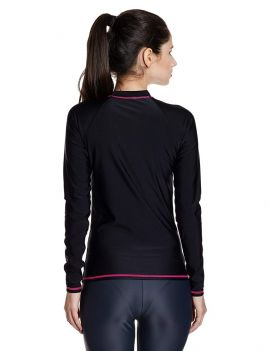 Speedo Female Swimwear Long Sleeve Suntop
