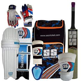 SS Kashmir Willow Cricket Full Kit Size- Youth