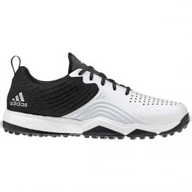 Adidas AdiPower 4orged S Men's Golf Shoes Black/White