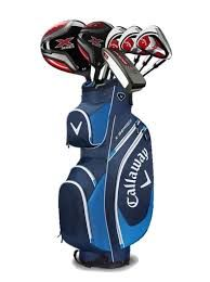 Callaway X Series 418 Complete Set 12 Clubs and Bag