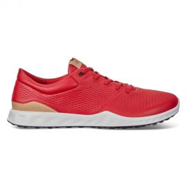 Ecco Women's S-Lite Spikeless Golf Shoes Red