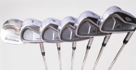 TaylorMade Rac Iron Set 6-SW Steel Shaft Preowned RH