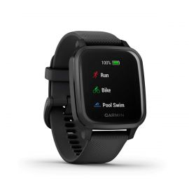 Garmin Venu Sq Music - Black Slate