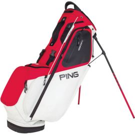 Ping 2019 Hoofer 14 Stand Bag Scarlet White Black