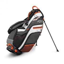 Callaway Fusion 14 Stand Bag - Red/Tit/Silver