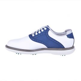 FootJoy Traditions Golf Shoes White/Blue