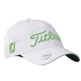 Titleist Performance Ball Marker Cap Adjustable 2017-White/Spearmint