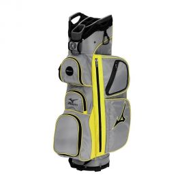 Mizuno Elite Golf Cart Bag, Grey/Yellow