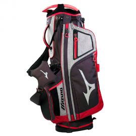 Mizuno Eagle Stand Bag Black/Red