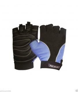 Nivia Step Out & Play Leather Gym Gloves