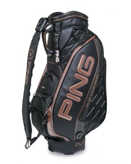 PING GOLF PGJ-CBDX18 CART BAG-BLACK