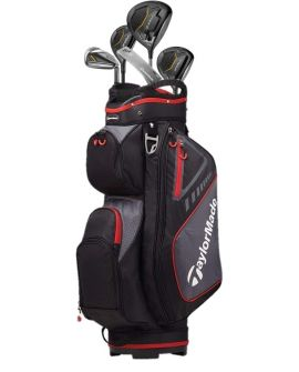 TaylorMade RBZ Black Steel Golf Set - 11 Clubs & Bag