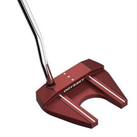 Odyssey Red O-Works #7 Putter Super Stroke 2.0 Grips RH