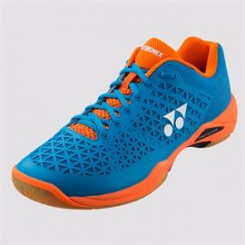 Yonex Power Cushion Eclipsion X Badminton Shoes Orange and Blue