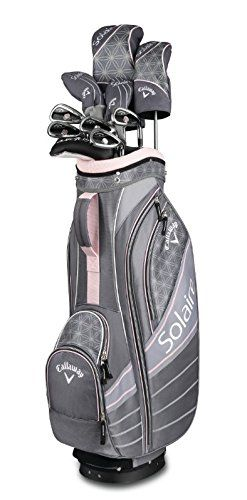 Callaway Golf 2018 Solaire Ladies Set, 11 Club, Cherry Blossom