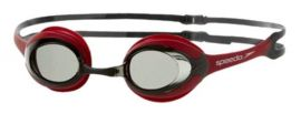 Speedo  Merit Goggles, White/Red