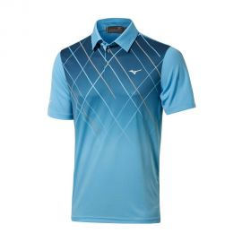 Mizuno Piquet Sublimation Polo - Norse Blue