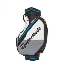 TaylorMade SIM Tour Cart Bag White/Gray/Blue