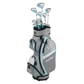 Tour Edge Ladies Edge Graphite Golf Set 10 Clubs & Cart Bag