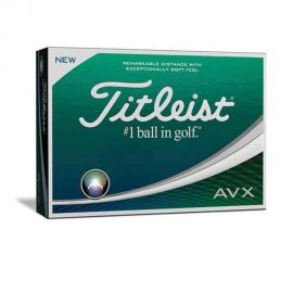 Titleist AVX White Golf Balls - 1 Doz