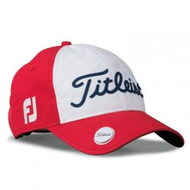 Titleist Performance Ball Marker Cap Adjustable 2017- Red/White/Navy