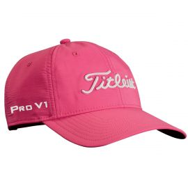 Titleist Women's Performance Cap- Pink/White