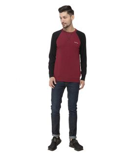 Seven-MAZDA SWEATER - RUMBA RED