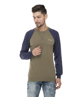 Seven-MAZDA SWEATER - Burnt Olive