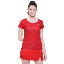 Yonex T Shirt Ladies 999 - Tomato Red